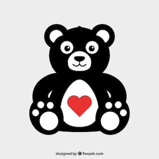 Urso de pelúcia Dia dos Namorados