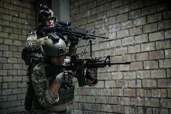US Rangers do Exército na missão