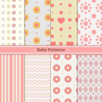 Variedade de padrões bonitos