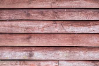 Velho fundo de madeira marrom vermelho