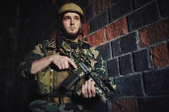 Veteranos munição armadura do guerreiro adultos