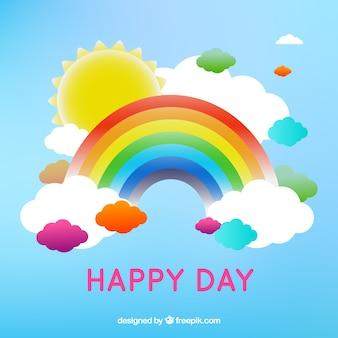 Vetor do arco-íris de download