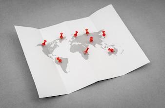 Viagens geografia comunicação simples áfrica