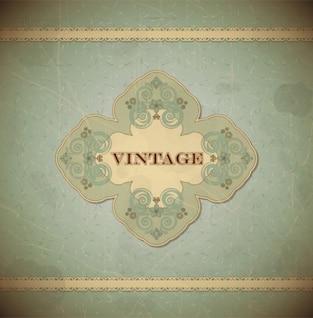Vintage e floral estilo do scrapbook rendas