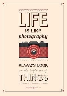 Cartaz tipografia do vintage