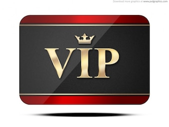 VIP card (PSD)