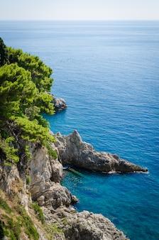 Vista do mar adriático