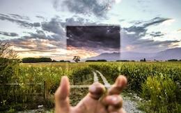Vista filtro Cokin de paisagem