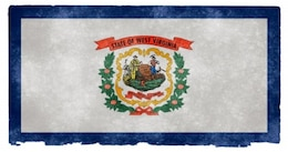 West Virginia grunge bandeira