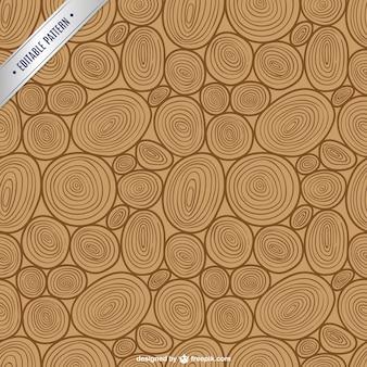 Teste padrão de madeira