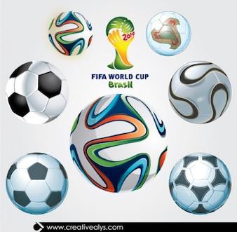 Copa do mundo 2014 bolas
