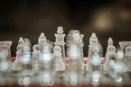 xadrez de vidro