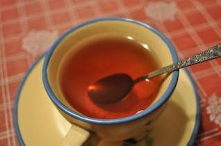 Xícara de chá, chá