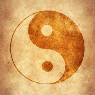 Yin yang meditação