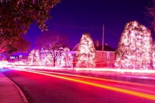Weihnachtsstadt usa