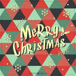 Frohe Weihnachten Retro-Hintergrund