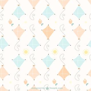 Frei Drachen Muster