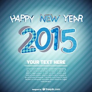 Neujahrskarte Vorlage