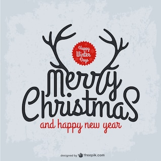 Grunge Weihnachtskarte