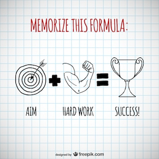 Erfolgsformel Vektor