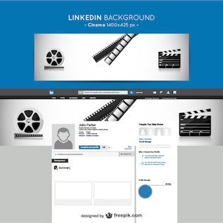 Linkedin Kino Hintergrund