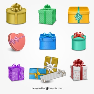Geschenkboxen Sammlung