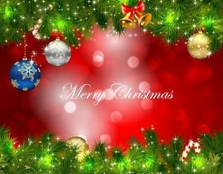 Weihnachten grünen Rahmen