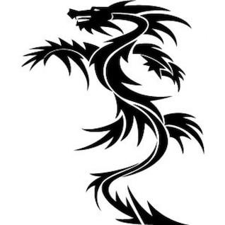 Drachen Vektor 4