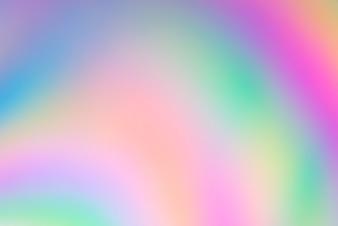 Abstrakte bunte Unschärfe in Kunststoff mit polarisiertem Licht