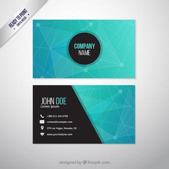 Abstrakte Geschäftskarte
