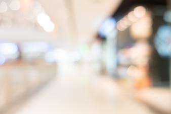 Abstrakte Unschärfe und Bokeh Einkaufszentrum und Einzelhandel speichern
