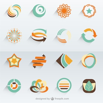 Abstrakte Vektor-Logo-Vorlagen