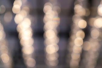 Abstraktes Unschärfe bokeh Licht