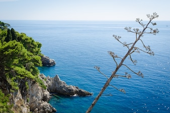 Adria-Blick aufs Meer