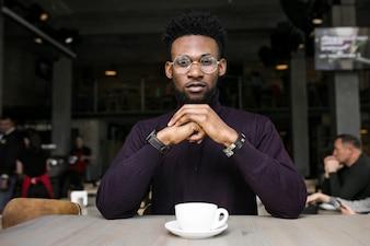 Afrikanischen digitalen amerikanischen mit mann
