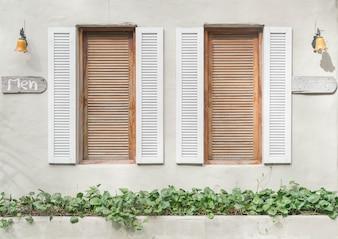 Altes Fenstermuster