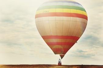 Amerika Außenansicht Außenballon