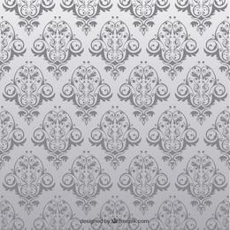 Antike nahtlose Muster mit Blumen