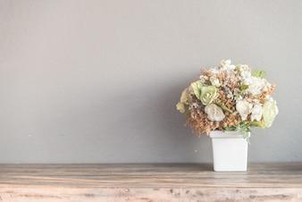 Antike Pastell Schönheit Bouquet blau
