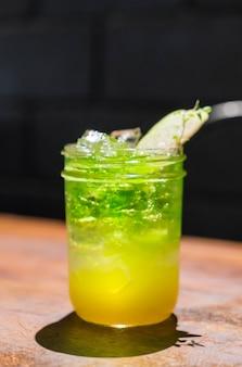 Apfel Melone Soda