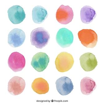 Aquarell dots