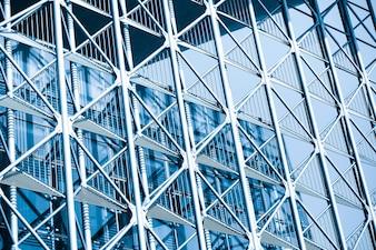 Architektur Stadt Turm Stahl Glas