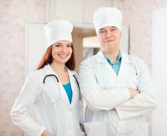Ärzte in der Klinik