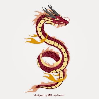 Asiatische Drachen