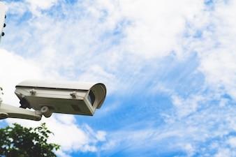 Ausrüstung Hintergrund elektrische Ansicht Himmel blau
