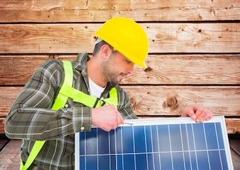 Beruf Schutzdienst umweltfreundlich Arbeiter