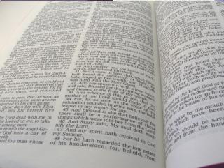 Biblischen Seiten