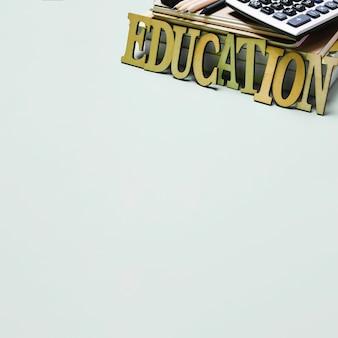 Bildung Schreiben und Bücher