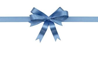 Blaues Band und Bogen