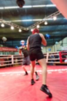 Boxing Blur Hintergrund